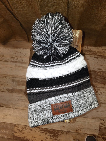 Rockford Unisex Winter Hats (Click to view available colors)