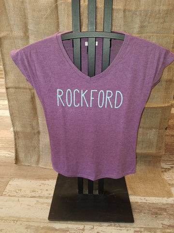 Women's Rockford Tri-Blend V-Neck T-Shirt