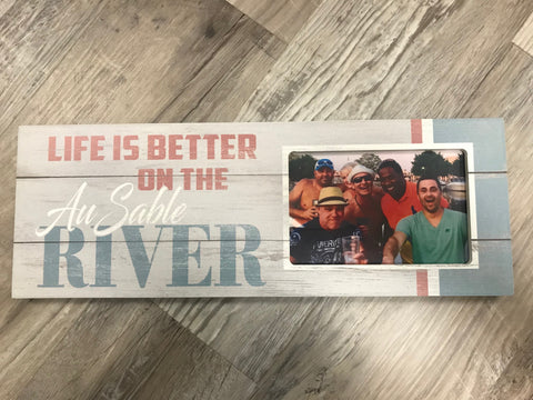 AuSable River Picture Frame