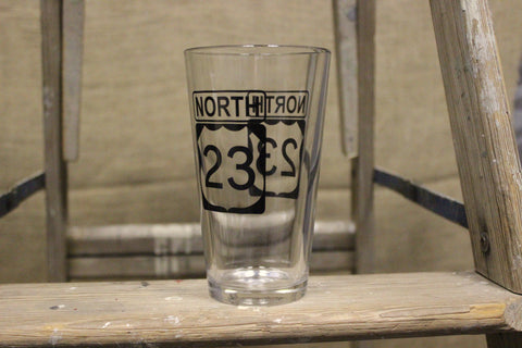 23 North Pint Glass