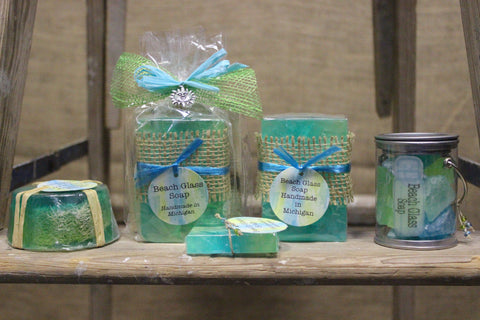 Beach Glass Soaps & Lotion (Click to view available options)
