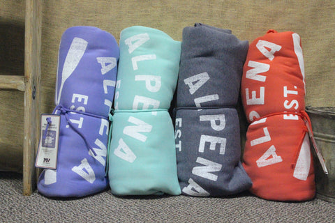 Alpena Sweatshirt Blanket (Click to view available colors)