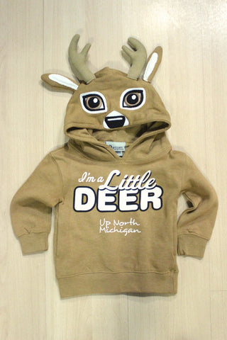 Toddler Little Deer Hood Sweatshirt