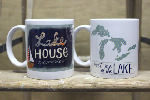 Lake Coffee Mugs (Click to view available options)