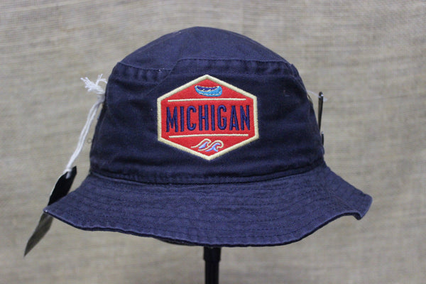 Toddler/Youth Michigan Bucket Hats (Available in Navy & Khaki)