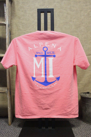 Alpena Anchor Ring-spun T-Shirt