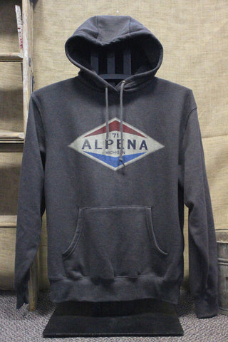 Old Gas Station Alpena Unisex Sweatshirt