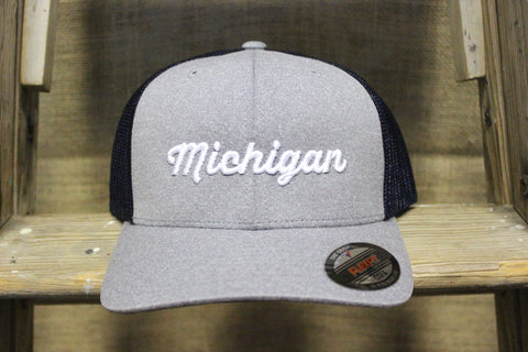 3D Michigan Flexfit OSFA Mesh Hat
