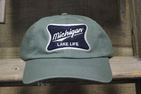 Michigan Lake Life Adjustable Hats (Click to view available colors)