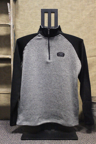 Tawas Patch Quarter Zip Unisex Fleece (Click to view available colors)