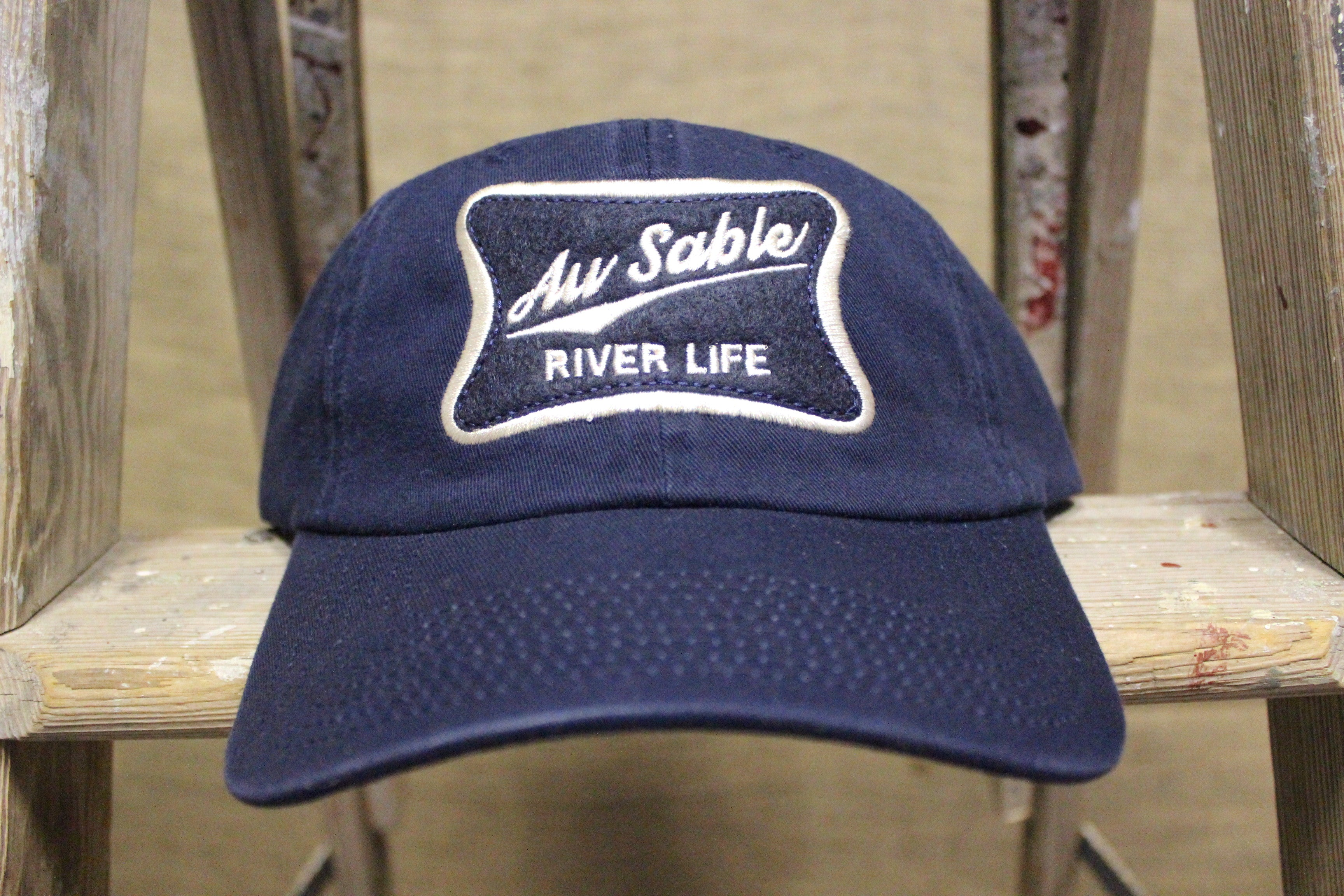 Au Sable River Life Adjustable Hats (Click to view available colors) – The Local  Basket Case LLC 3b82e909ede8
