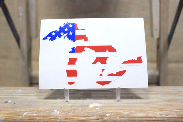 Great Lakes Proud USA Decal Sticker - Support our Great Lakes!