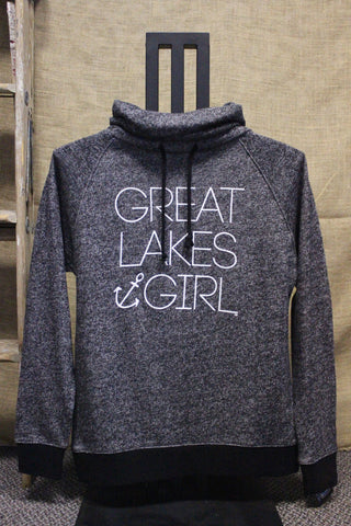 Great Lakes Girl Twist Funnel Neck