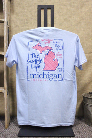 The Simple Life Up North Paradise T-shirt