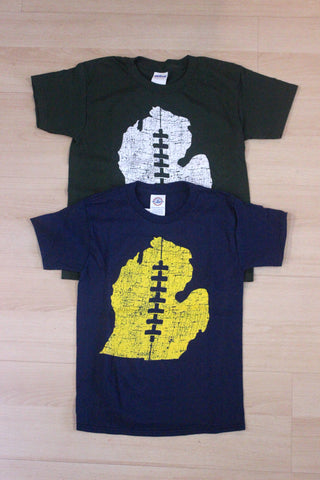 Youth Football Lace T-Shirt