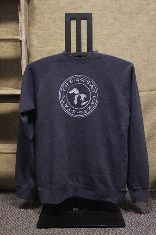 The Great Lakes State Crewneck Sweatshirt