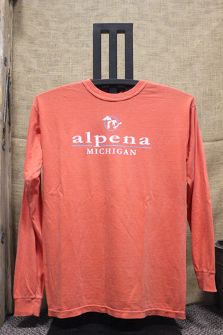 Alpena Great Lakes Long Sleeve Unisex Shirt (Click to view available colors)