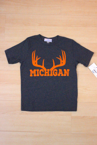 Youth Michigan Antler Unisex T-shirt