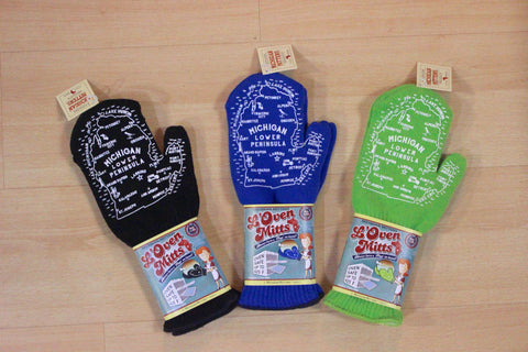 Michigan L'Oven Mitts (Click to view available colors)