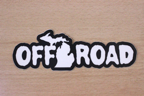 "Off Road 6"" Sticker"