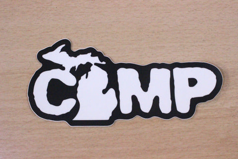 "Camp 6"" Sticker"