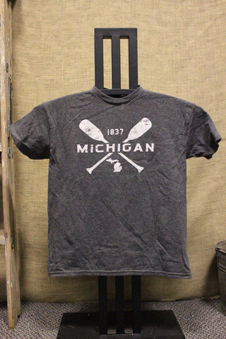 Youth Michigan Paddle T-Shirt (Click to view available colors)
