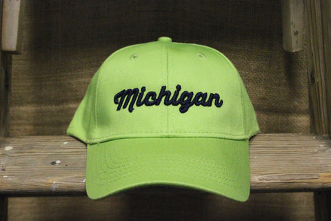 Youth 3D Michigan Adjustable Hats (Click to view available colors)