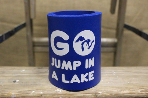Go Jump in a Lake Coozie