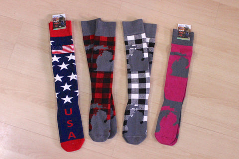 Michigan Over-the-Calf Socks (Click to view available styles)