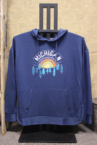 Ray of Light Hooded Light-weight Pullover