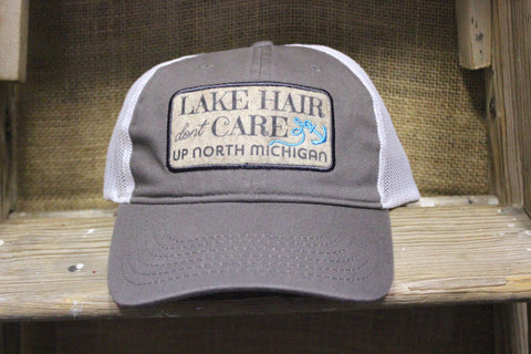 Lake Hair Don't Care Adjustable Trucker Hats (Click to view available colors)