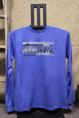 Michigan Pines Unisex Long Sleeve Shirt