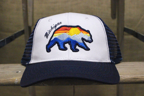 Michigan Bear Foam Trucker Hats (Click to view available colors)