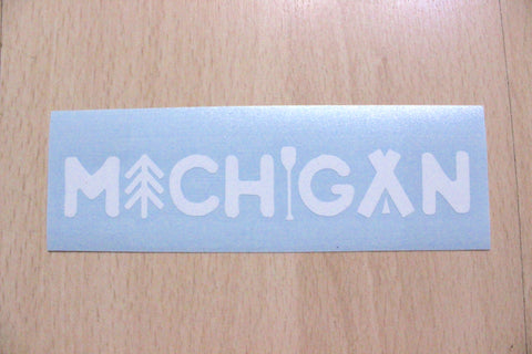 Michigan Outdoors Vinyl Car Decal