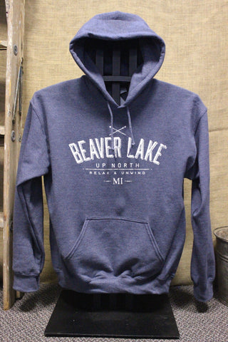 Beaver Lake Unisex Hooded Sweatshirts