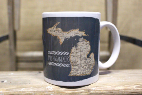 Michigan Designed Coffee Mugs (NEW STYLES - Click to view available options)