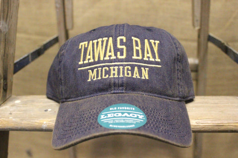 Adjustable Tawas Bay Baseball Hats (Click to view available colors)