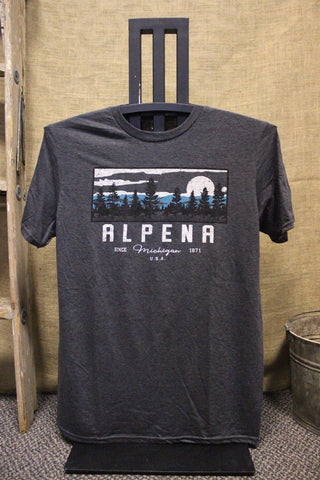 Alpena Rectified Pines Unisex T-Shirt (Click to view available colors)