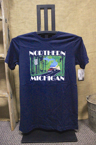 US 23 Northern Michigan Scenic Unisex T-Shirt