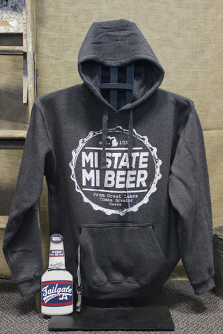 Beer State Coozie/Bottle Opener Sweatshirt