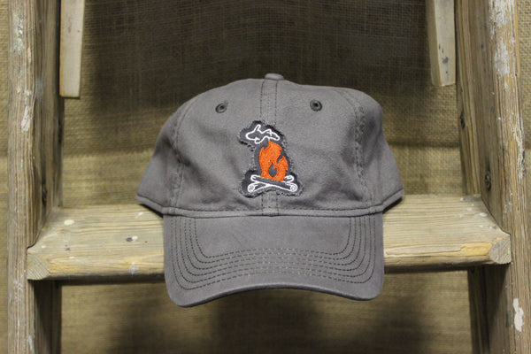 Michigan Campfire Adjustable Strap Back Hat