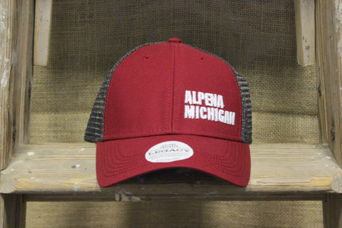 Alpena Embroidered Adjustable Trucker Hat