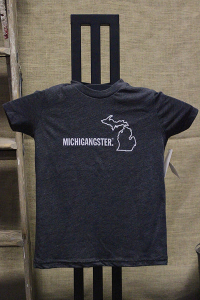 Toddler/Youth Michigangster T-shirt (Click to view available colors)
