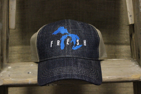 Fresh Adjustable Denim Hat