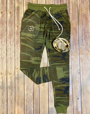 Camo, OM, Light Weight Jogger