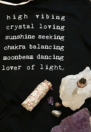Lover of Light Sweatshirt Dress