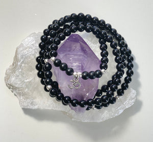 Obsidian and Om, Stretch Mala