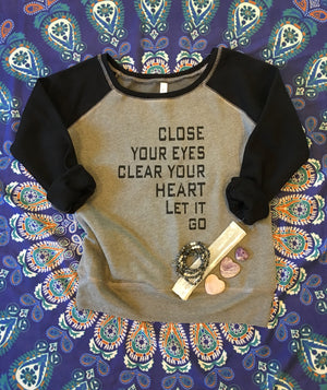 Clear Your Heart, Let It Go, Sweatshirt