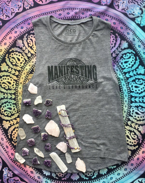 Manifesting LOVE & Abundance, Relaxed Muscle Tank