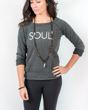SOUL Wide Neck Fleece